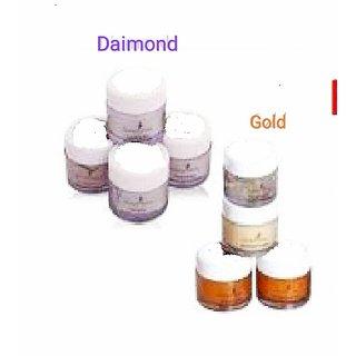 Sahanaaza Hussain Gold Diamond Facial kit combo