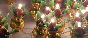 6th Dimensions Golden Kalash String Light (Multicolor)