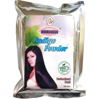 Natural Indigo Powder Semi Permanent Hair Color Black 1 kg