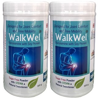 WalkWel Joint Comfort Protein Powder 300g (Pack of 2)