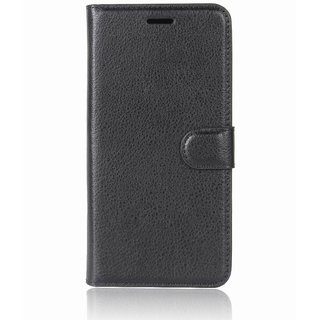 Redmi Note 5 Pro Black Flip Cover Standard Quality