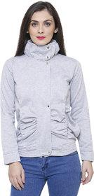 Tshirt Company Light Grey Fleece Jacket