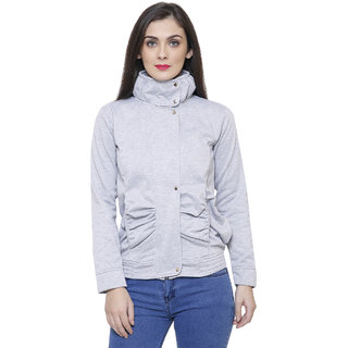 Tshirt Company Light Grey Fleece Jacket