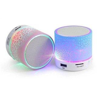 Deals e Unique 2.1 Channels Bluetooth Speaker With Memory Card Slot (Multicolor, set of 1)