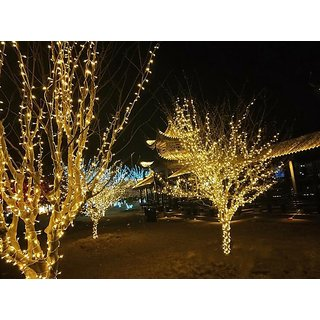 12M 54 LE Warm White String Lighting Wedding Fairy Christmas Lights Outdoor Twinkle Christmas tree Decoration