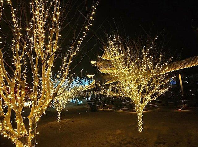 Buy 12m 54 Le Warm White String Lighting Wedding Fairy