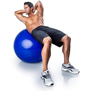 Tuzech Multipurpose Gym Ball - Ultralarge - 75 CMS