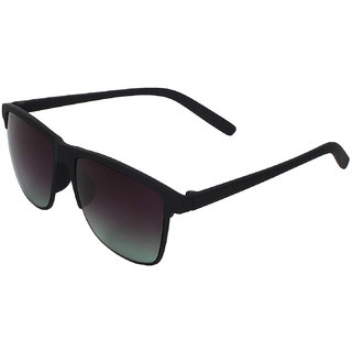 Arzonai Besties Wayfarer Black-Black UV Protection Sunglasses |Frame For Men & Women [MA-318-S3 ]