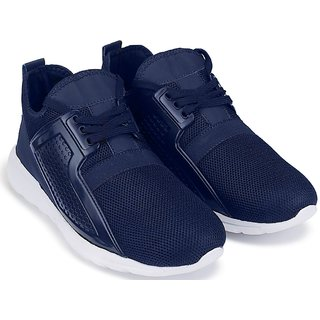 Clymb Firangi Navy Blue Trendy Walking Gym Sports For Mens In Various Sizes