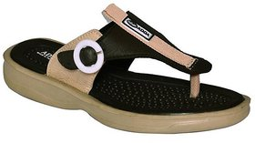 Adda Brown Color Flipflops For Women