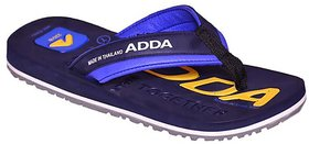 Adda Navy Blue Color Flipflops For Men