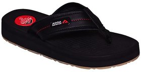 Adda Black Color Flipflops For Men