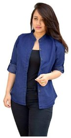 Women's Denim Blue Shirt