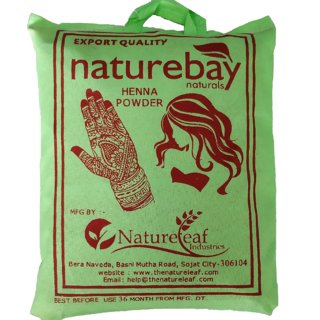 NatureBay Naturals 100 Pure Henna Powder 500gm(cloth filtered)
