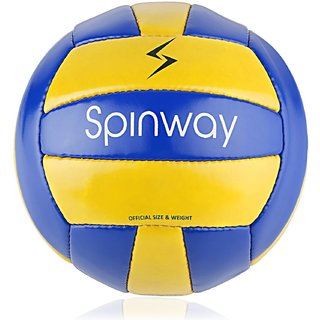 Spinway Volley Ball Training SW-100 Hand Stitch Highair Retention Moisture Repelling