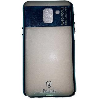 Baseus Teal Colour Premium Quality Rubber Back Cover for Samsung Galaxy J6