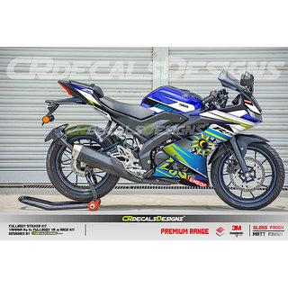 Buy YAMAHA R15 V3 Full Body Wrap Custom Decals/Stickers VR46