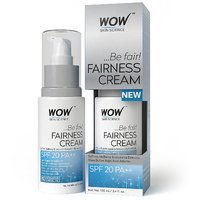 WOW Fairness Cream with SPF 20 PA++, Super Saver Pack of 100ml