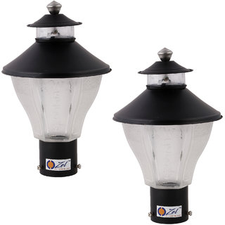 Ozel Welcome Attractive Unbreakable Garden/Home Decorative mini Lamp (Pack of 2)