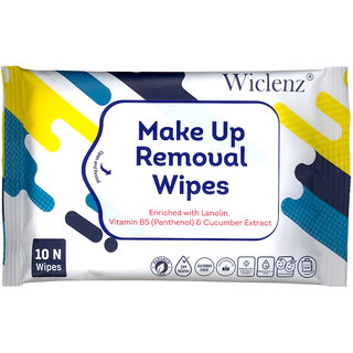 Make Up Removal Wipes - Pack of 10 Wipes - Pack of 5