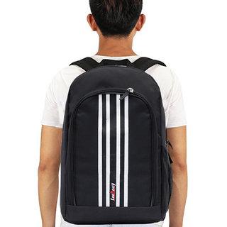 LeeRooy Fashion  Black 19  Ltr  Bag Backpack