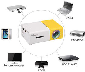 Callmate LED Mini Projector The Most Cost-efficient Hig
