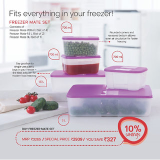 Freeze containers (set of 5)