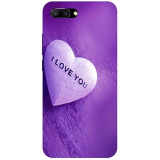 Back Cover for Huawei Honor 10 (Multicolor,Flexible Case)