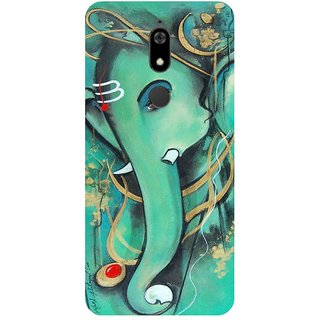 Back Cover for Micromax Canvas Infinity Pro (Multicolor,Flexible Case)