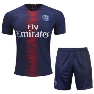 new product f44d6 6206a psg football home jersey with shorts