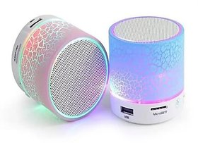 Mini Bluetooth Speaker with all function Light -( Color Per Availability)