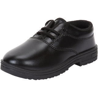 Armado Boys Kids-1099 Black School Shoes.