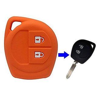 Suzuki Swift Orange Silicone key cover  1 pcs