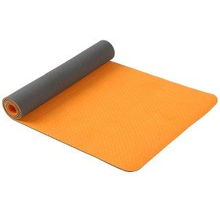 Spinway Yoga Mat Eco-friendly Washable ( Colour : Orange)