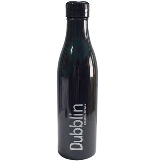 6th Dimensions Vintage 750 ml Hot and Cold Water Bottle (Black)