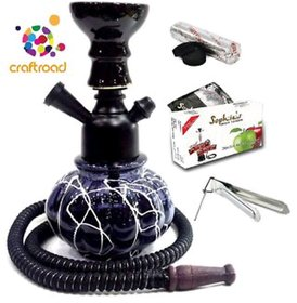 10 Inch Hookah With Flavour Coal And Tong By Emarket