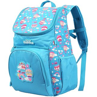 Smily Kiddos Smily U shape Backpack(Light Blue)