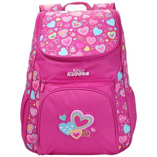 Smily Kiddos Smily U Shape Backpack(Pink)