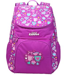 Smily Kiddos Smily U Shape Backpack(Purple)