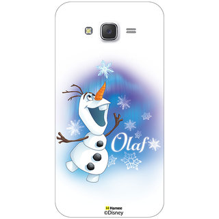 Disney Princess Frozen Official Licensed Hard Case Cover For Samsung Galaxy On5 ( Olaf Ice Flakes )