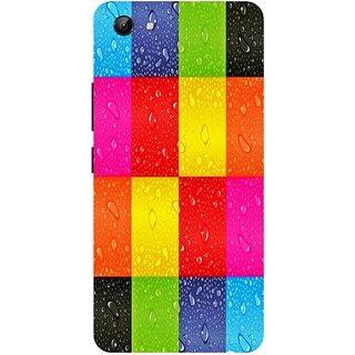 Back Cover for Vivo Y81 (Multicolor,Flexible Case)