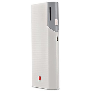 iBall 10000mAh With 2 USB Port Higher Safety Lightweight Power White/Grey