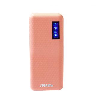 SPIRITe 15000 mAh Frist Charging Power Bank -Baby Pink