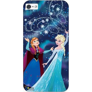 Disney Princess Frozen Official Licensed Hard Case Cover For Lenovo ZUK Z2 ( Anna Elsa Magic )