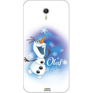 Disney Princess Frozen Official Licensed Hard Case Cover For Lenovo ZUK Z1 ( Olaf Ice Flakes )