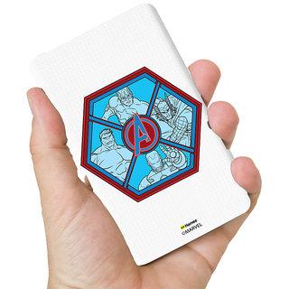 Hamee Marvel Licensed Avengers 10000 MAh PowerBank  (Avengers Group / Hexagon)