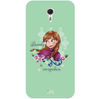 Disney Princess Frozen Official Licensed Hard Case Cover For Meizu M3 Note (Anna / Green Beauty)