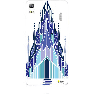 Disney Princess Frozen Official Licensed Hard Case Cover For Lenovo A7000 / K3 Note (Snow Palace)