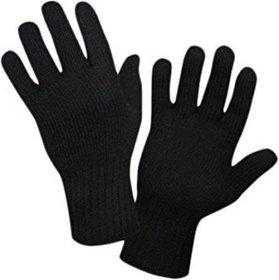 Tahiro Black Woollen Winter Gloves - Pack Of 1