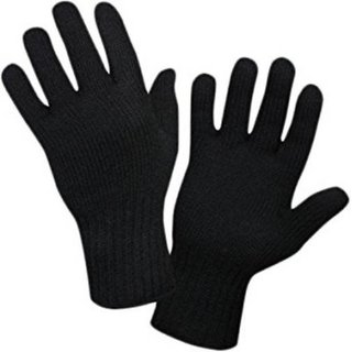 Tahiro Black Woollen Winter Gloves - Pack Of 1
